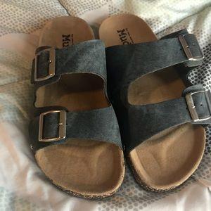 Women's Mudd slip on sandals